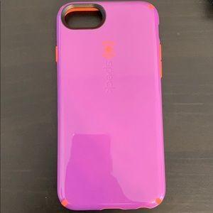 iPhone 7 Speck phone case.